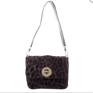 Kate Spade Harlow Algonquin Leopard Shoulder Bag
